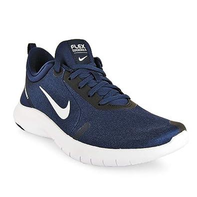 Nike Herren Flex Experience RN 8 Midnight NavyWhiteMonsoon Blue 9.5 D US