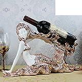 Creative wine rack/Beautiful mermaid ornaments wine rack/Home Decorations-C