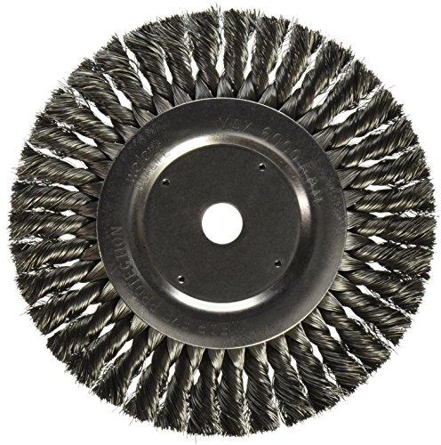 Weiler 8138 Standard Twist Knot Wire Wheel, 8