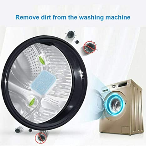 5 x BacBuster Kitchen Washer Sink Cleaning Tablets Easy Washing Machine