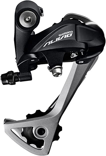 NEW Shimano Alivio T4000-SGS 9-Speed Long Cage Rear Derailleur Black