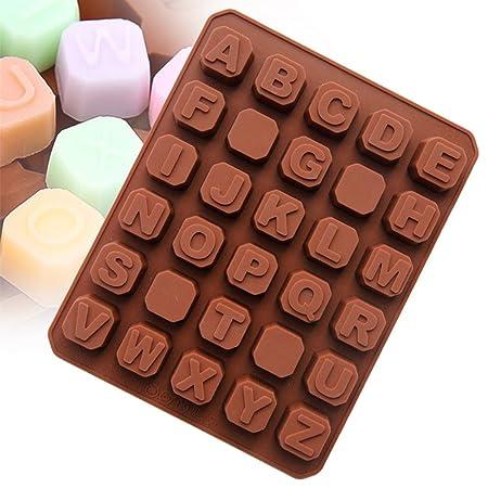 Super Victor Chocolate Forma silicona letras Fundición para ...