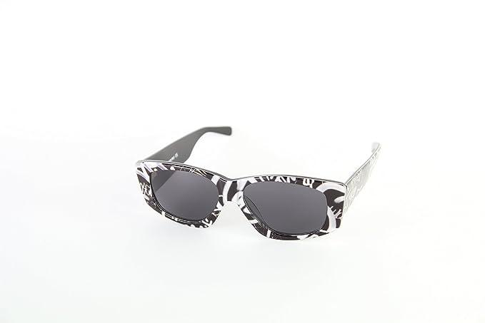 Moschino MO-818S-02 Gafas de Sol, Black/White, 57 para Mujer ...