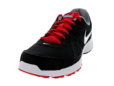 new product c0dc0 232d4 NIKE REVOLUTION 2 RUNNING SHOES 7 Men US (BLACK WHITE VARSITY RED