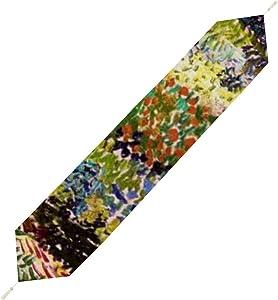 "Table Runner for Farmhouse Vincent Van Gogh Flowering Garden Decorative Table Runner for Home Kitchen Halloween Christmas 70"" X 13"""