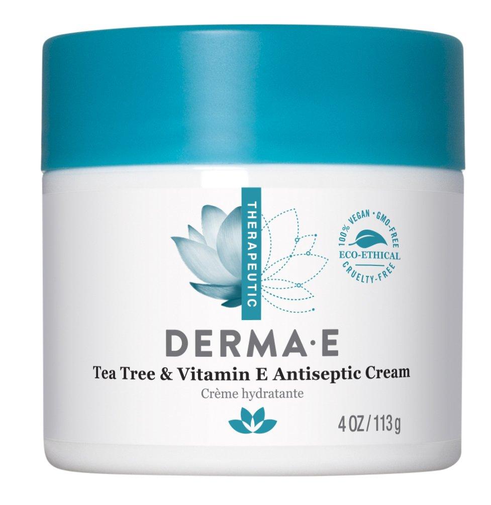 Derma E Tea Tree and Vitamin E Antiseptic Cream, 4oz