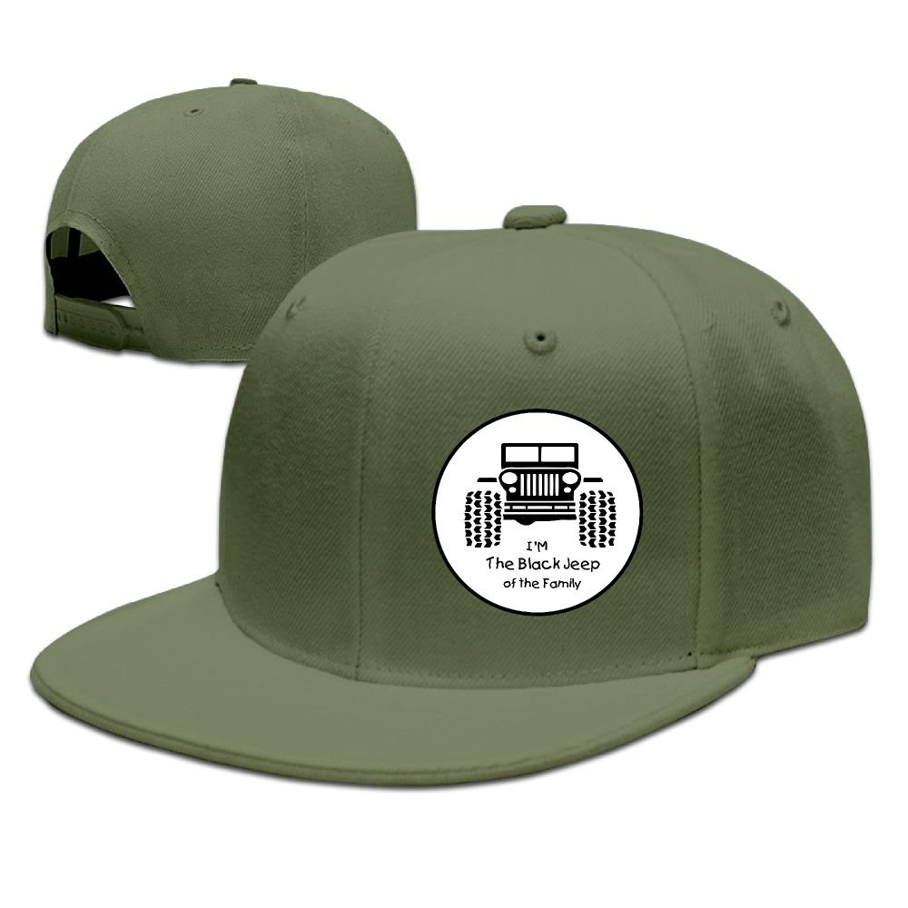 BDHESR I m The Black Jeep Of The Family Snapback Hats For Men Cool Dancing  Flat Bill Hats Fitted Hats For Men at Amazon Men s Clothing store  5356376941