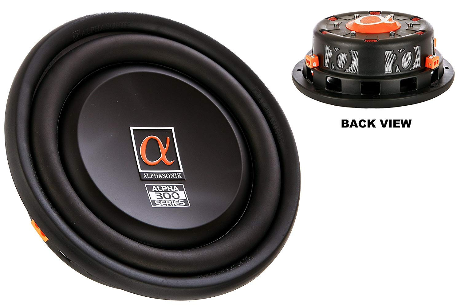 Alpine SWR-12D4 Type-R 12-Inch  Subwoofer with Dual 4-ohm Voice Coils