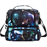 Large Insulated Lunch Bag Reusable Thermal Lunch Box Picnic Cooler Bag for Women/Men/Adults/Kids With Adjustable Shoulder Strap