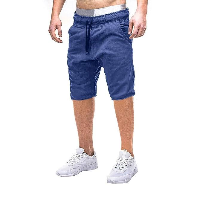 Sayla Pantalones Hombre Verano Moda Casual Cortos Cargo ...