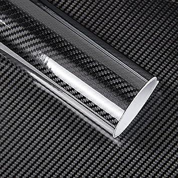 5D En Fiber De Carbone Vinyle Wrap Rouleau De Film Film De Voiture autocollants Stickers Moto Voiture Styling Accessoires Automobiles TTqp