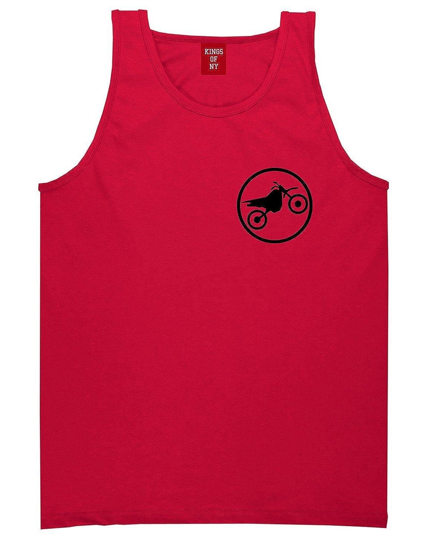 Dirt Bike Chest Mens Tank Top Shirt