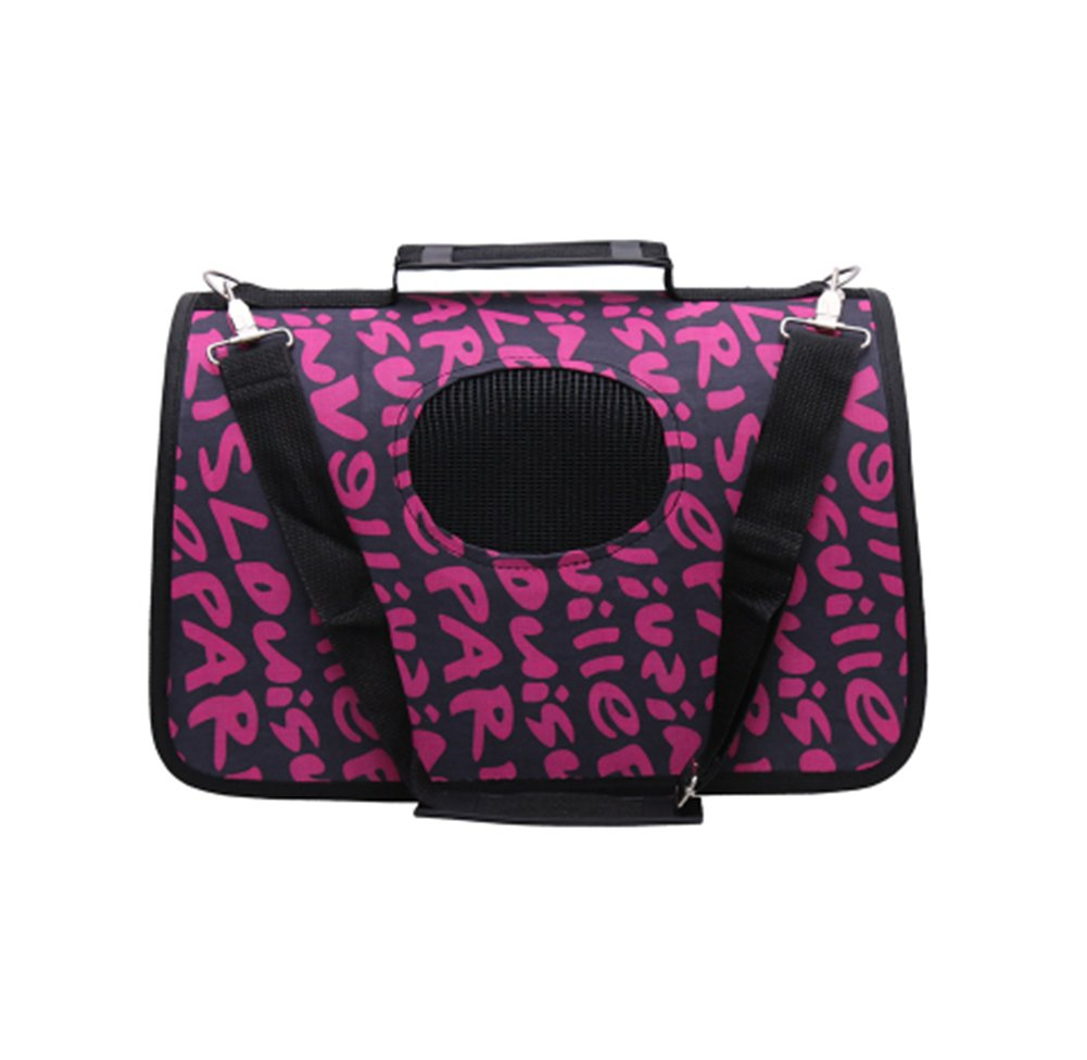 Pet Carrier Soft Sided Travel Bag for Small Dogs & Cats- Airline Approved  36
