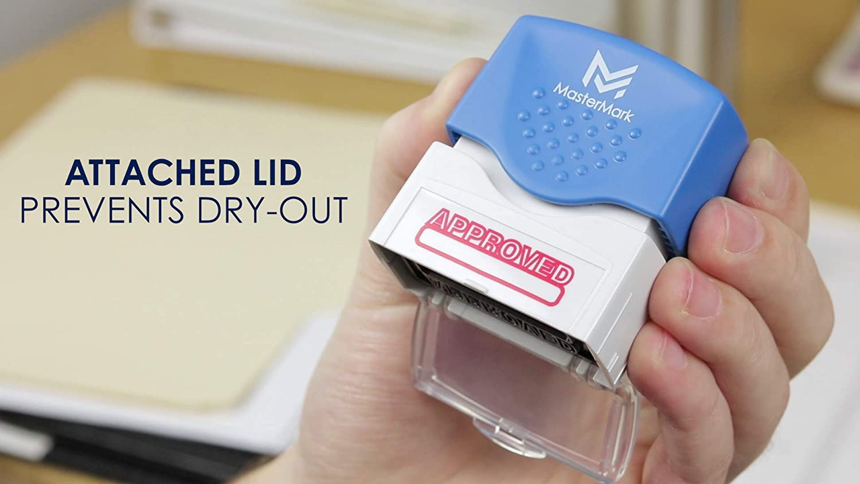 Duplicate Stamp MasterMark Premium Pre-Inked Office Stamp