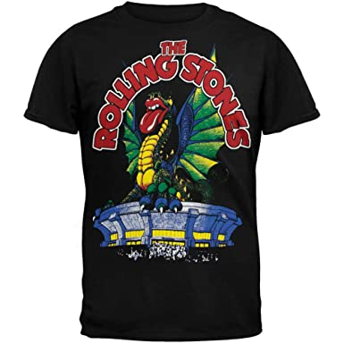 f166cf8a Amazon.com: Rolling Stones - Dragon Subway T-Shirt: Clothing