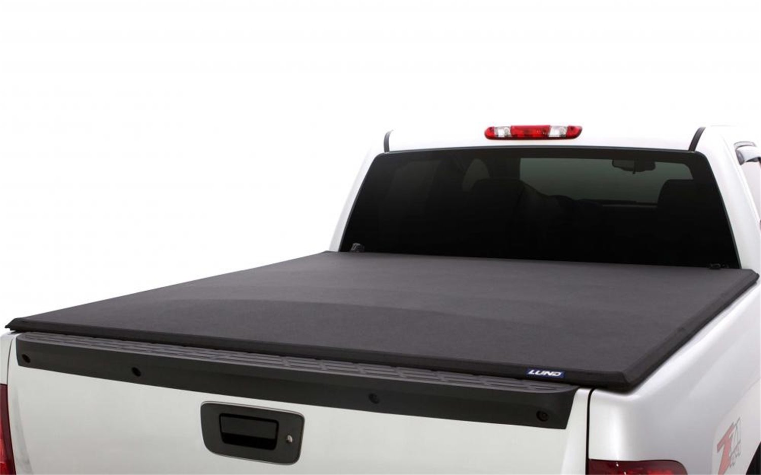 """Lund Genesis Elite Tri-Fold, Soft Folding Truck Bed Tonneau Cover   958172   Fits 2015 - 2020 Ford F-150 5' 7"""" Bed (67.1"""")"""