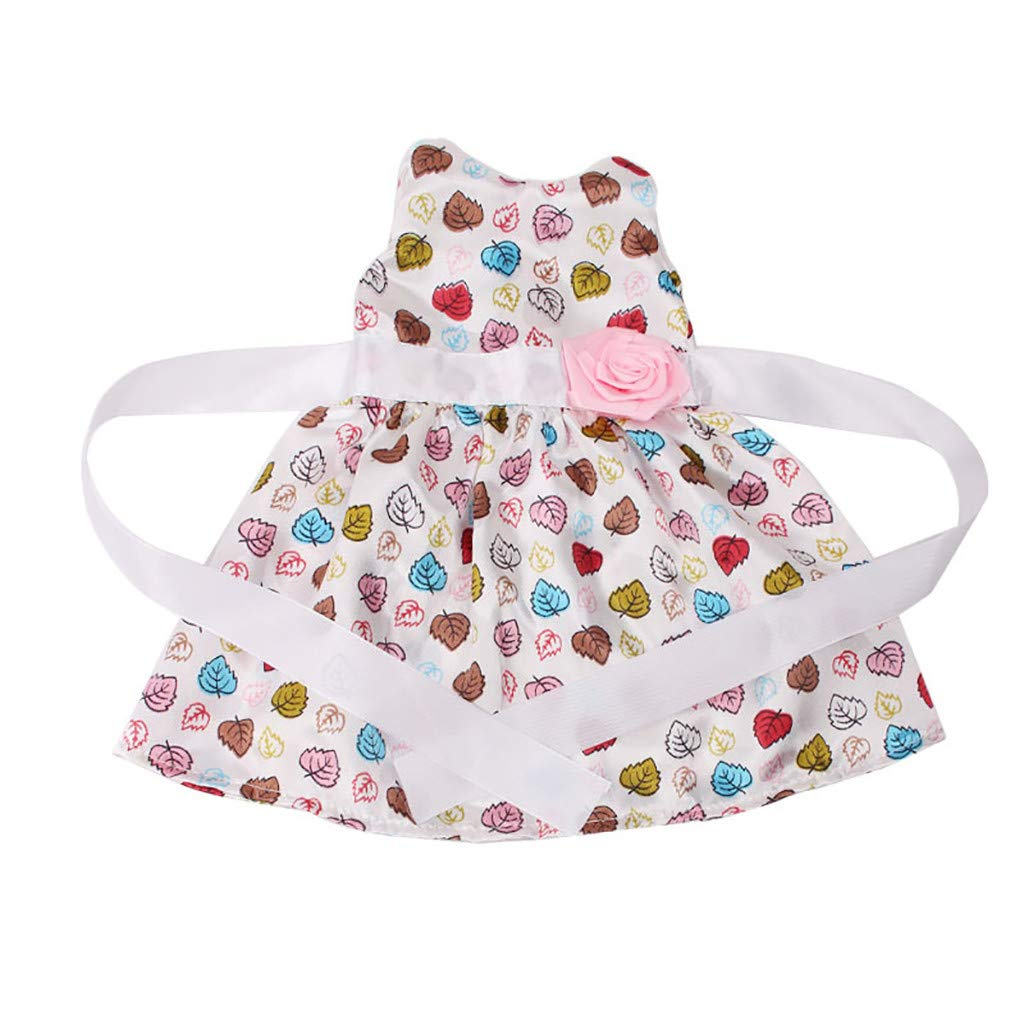 Mitlfuny Doll Clothes Dress for 18 inch Doll Accessories Baby Kids Gifts Dress Party Clothing