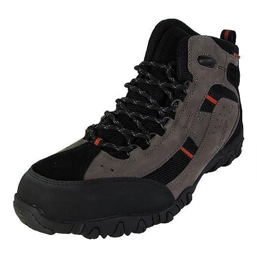 Allrounder Mens Sambor Tex Outdoor Boots Dark Grey/Black US 9.5
