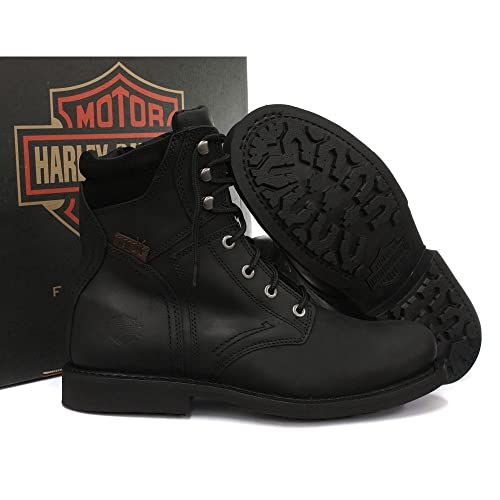 Harley Davidson Boots Genuine Darnel Mens Biker / Casual boots Moto high  quality (UK 10