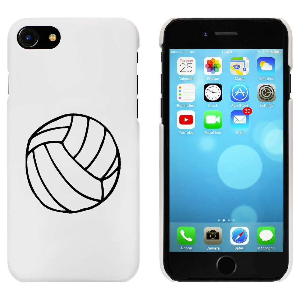 Azeeda Blanco Voleibol Funda para iPhone 7 (MC00066376): Amazon ...