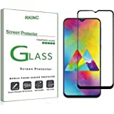 RKINC for Samsung Galaxy M20 Screen Protector, [1 Pack] Full Coverage Tempered Glass Clear Screen Protector [9H Hardness][3D Round Edge][0.33mm Thickness] for Samsung Galaxy M20, Black