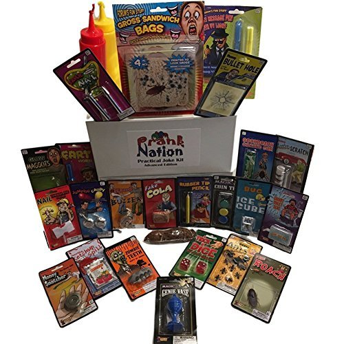 Practical Jokes Kit-Christmas Gifts for Kids-Pranks and Gags For Boys and Girls-Holiday Stocking Stuffers and Funny Gift Set Advanced Pack by Forum Novelties (Image #1)