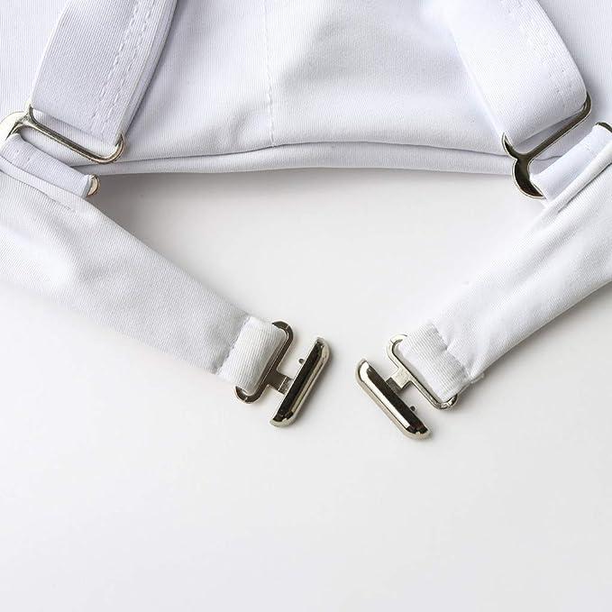 REALDE Mujer Color Sólido Alta Cintura Grande Mujer 2 Piezas Push ...
