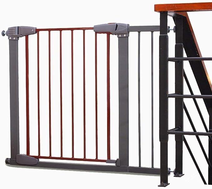 AQMYSYSD1 Puerta de Seguridad Extra Ancha para bebé, para escaleras, Puerta, Pasillo, presión Extensible, para Mascotas, Pasillo, Puerta, Escalera, Valla de Seguridad: Amazon.es: Hogar