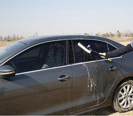 Cepillo para lavar automóvil F-Sport con dispensador de jabón.: Amazon.es: Coche y moto
