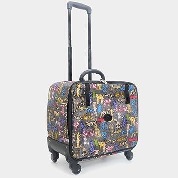 Pet Trolley Case NAUY- Mochila para Mascotas Mochila para ...