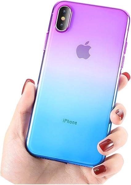 Coque ultra fine bicolore dégradé pour iPhone 11/11 Pro Max 7 Case ...