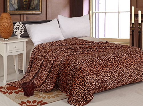 Jaguar Print Blanket<br>100% Polyester