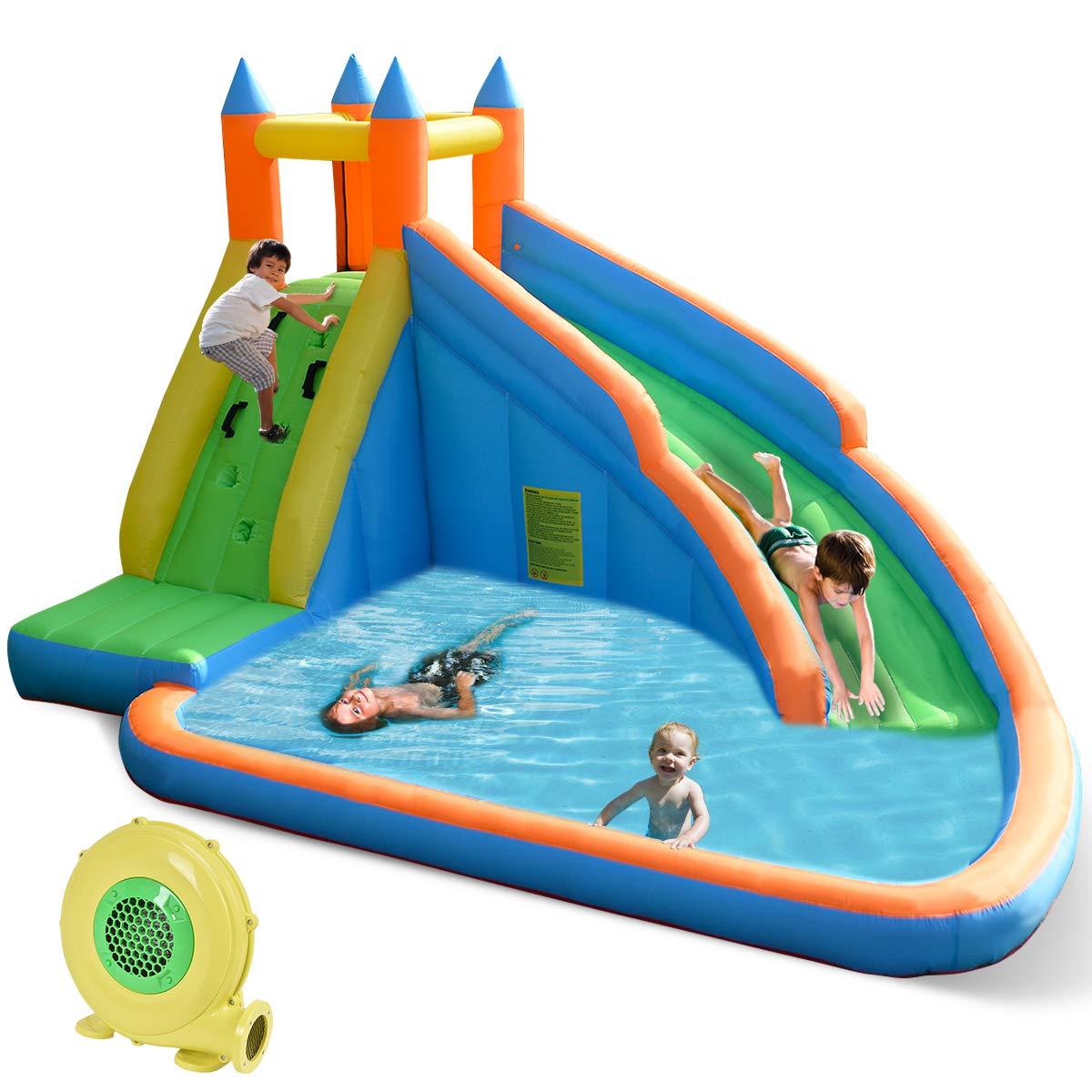 Inflatable Water Park Bouncy Kids Big Play Center Backyard ...