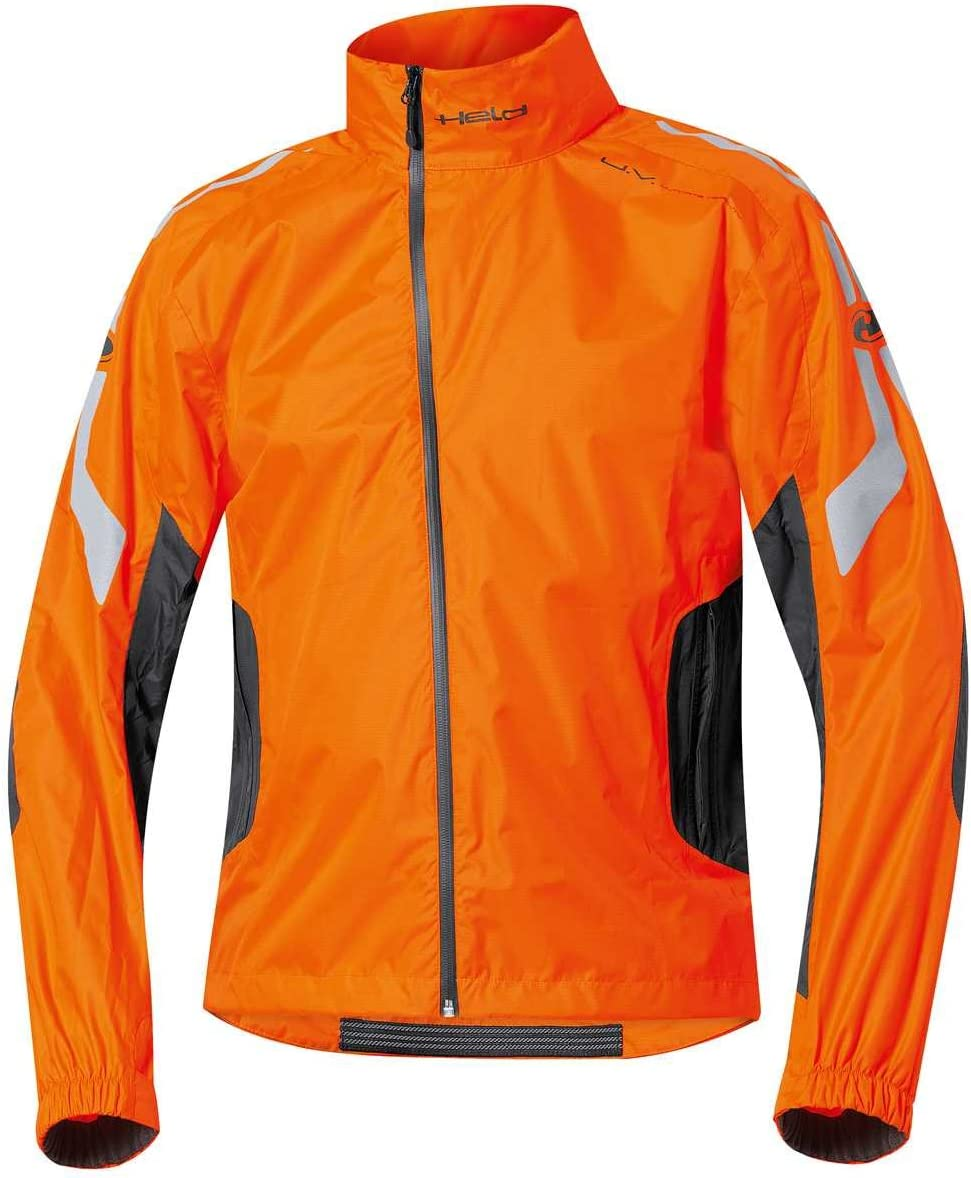 Held Wet Tour Regenjacke Gr/ö/ße 3XL Farbe schwarz-orange