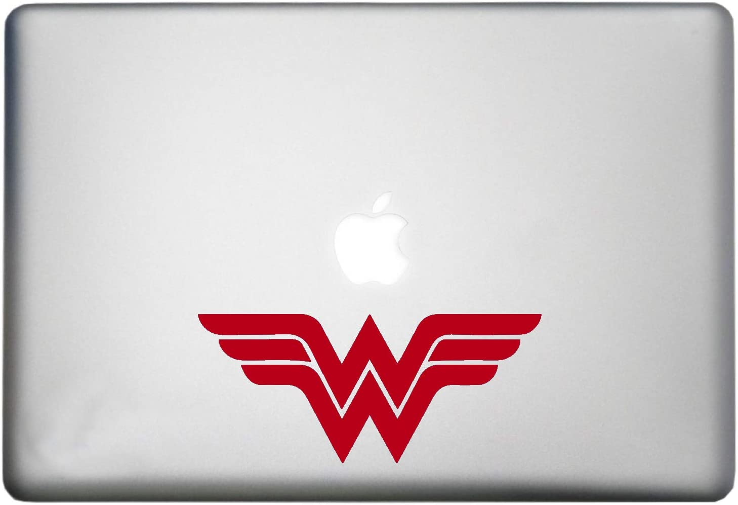 DC Comic Wonder Woman Superhero Sticker MacBook Pro Vinyl Decal is a Wonder Woman Decor Theme Symbol Decal. Laptop Sizes 11, 12, 13 and 15 inch. Many Available Colors-RED