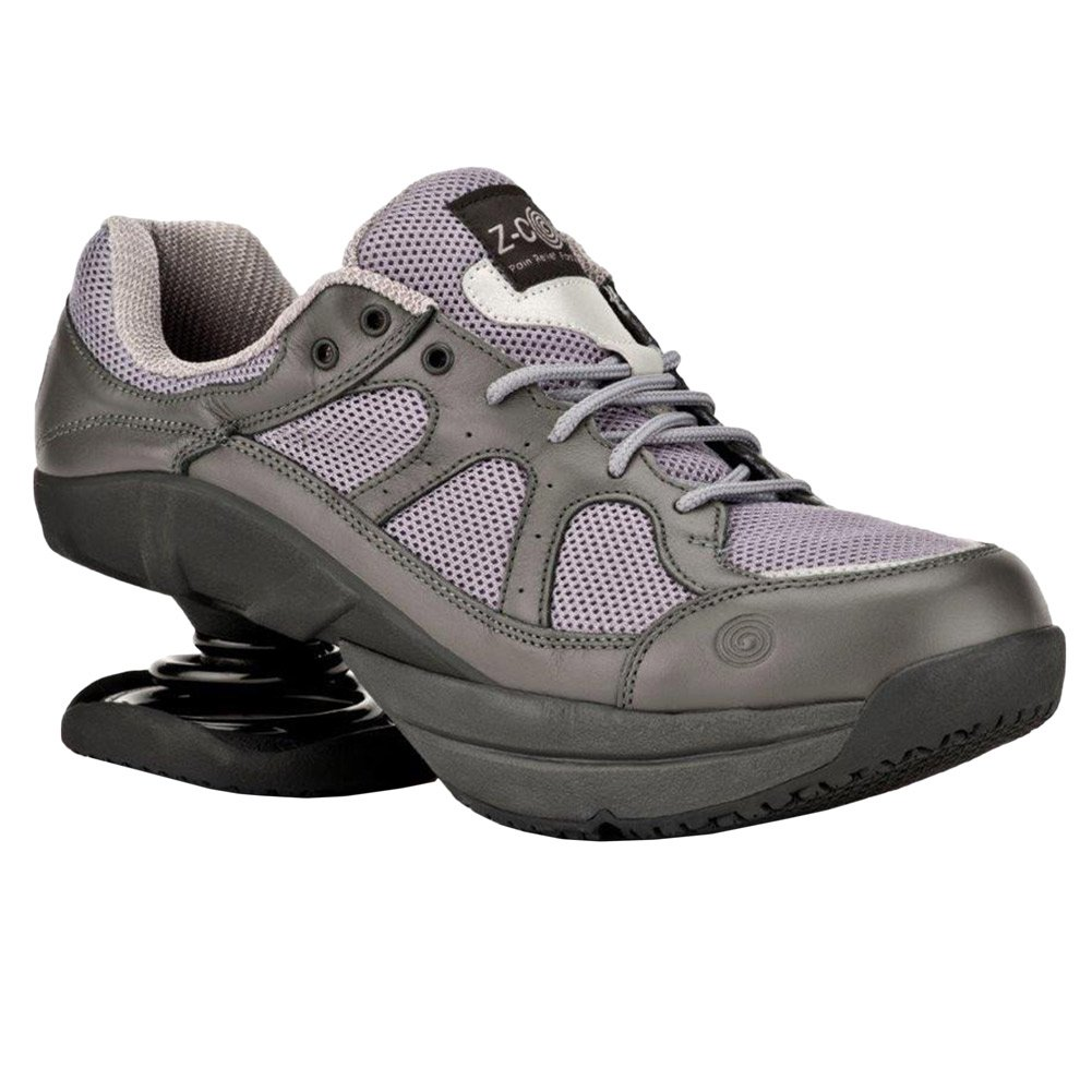 Z-CoiL Women's LIBERTY 1.0 or Freedom Slip Resistant Athletic Shoes Grey-8Women by Z-CoiL