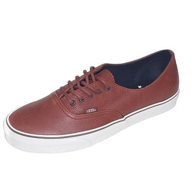 Vans AUTHENTIC DECON CA - Zapatillas de cuero para hombre marrón marrón 8b36c1e49f3