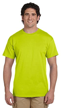faac65a423c Image Unavailable. Image not available for. Color  Gildan Men s Seamless  Double Needle T-Shirt