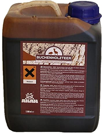 Madera de haya AKAH alquitrán 2,5 litros de alto concentrado atrayente para rojo y