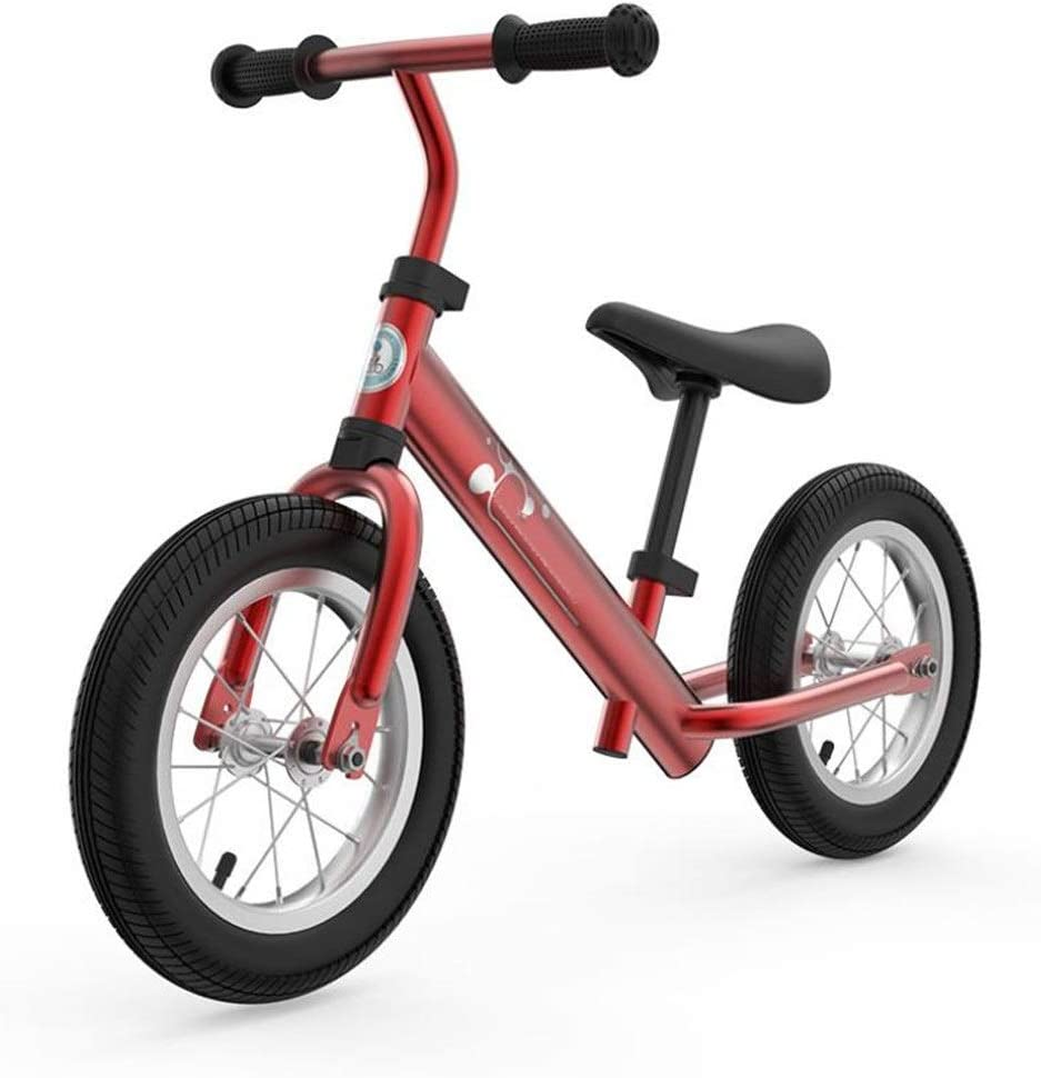 Andador de Bicicletas para Niños Bicicletas de equilibrio para niños Sin pedal Edad 3-5 Dos rondas Racing Scooter Para caminar Aprendiendo bicicleta para chicos Chicas Fácil de Retraer ( Color : E )