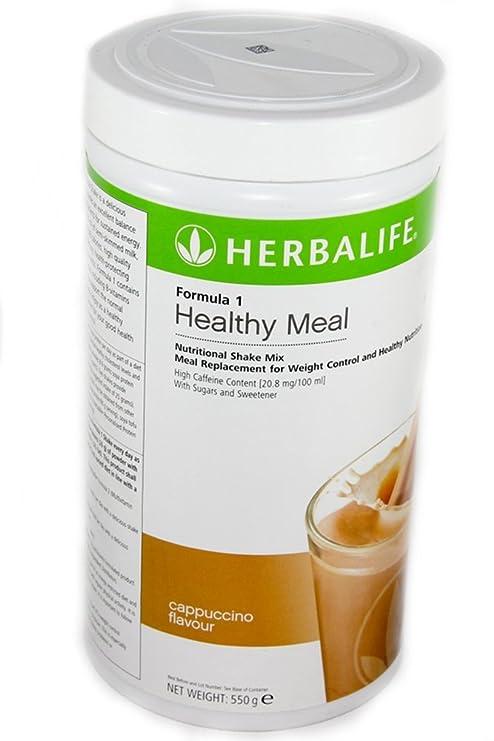 Herbalife Formula 1 Batido nutricional - sabor cappuccino - 550 g