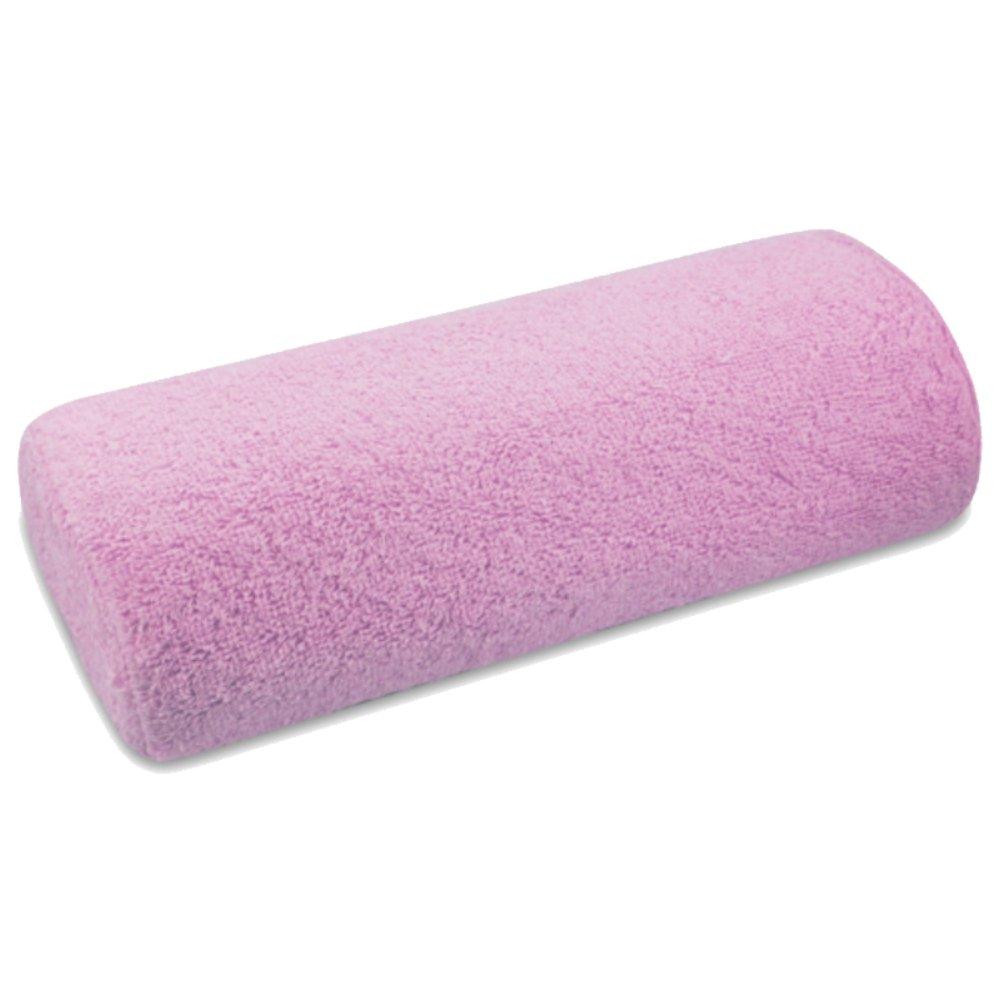 Handauflage Stoffbezug Frottee pink - Handablage Bezug abnehmbar und waschbar NAILFUN ®