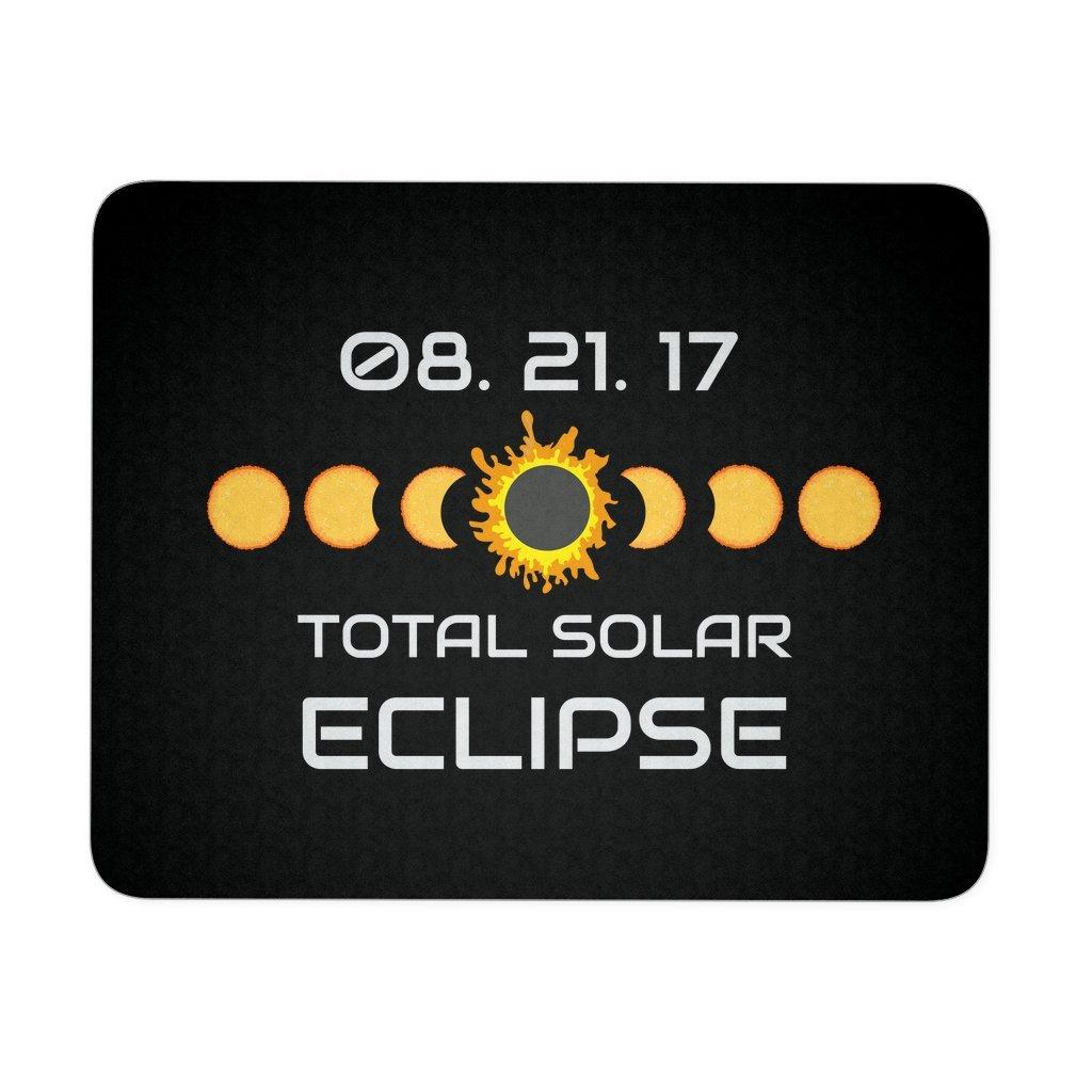 Solar Eclipse 2017 Mouse Pad Souvenir Keepsake Memorabilia Mousepad 9'' x 8''