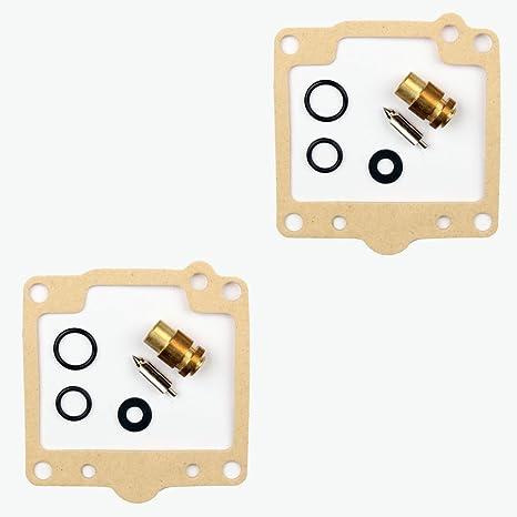 2x Kit Reparación Carburador Aguja del flotador Getor CAB-S1