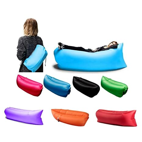 amazon com portable air bed sleeping sofa chair bed couch casual rh amazon com chair sofa couch bed Sofa Bed Couch