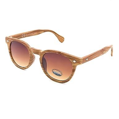 Kiss Lunettes de soleil Ligne du BOIS style MOSCOT mod. DEPP - VINTAGE Johnny Depp hommes, les femmes, la MODE unisexe - LIGHT WOOD