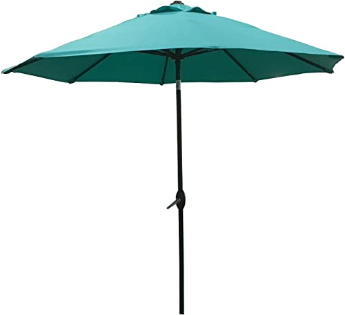 ABO Gear 9 Ft Outdoor Table Aluminum Patio Umbrella