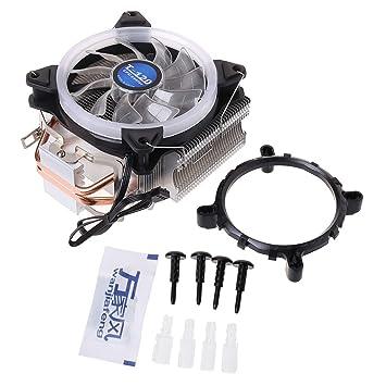 jimtw-fr incidencia hidráulico Ventilador de refrigeración CPU ...
