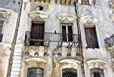 Home Comforts Framed Art for Your Wall Sicilie Expiration Window Facade Palermo Old 10x13 Frame
