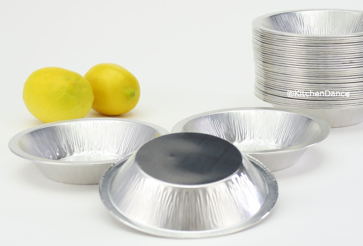 Disposable/Reusable Heavy Duty Aluminum 6'' Mini Pie Pans Deep #677- 11 oz Capacity (500)